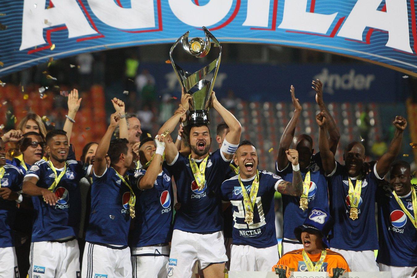 Millonarios es el super campeón y dedica el título a Russo - AS Colombia