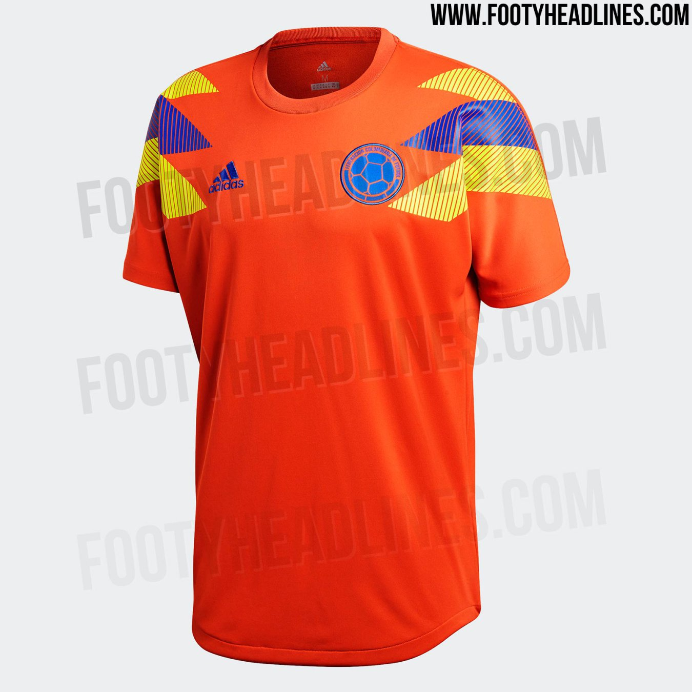 266e81d9bee17 Colombia también tendrá camiseta naranja edición especial - AS Colombia