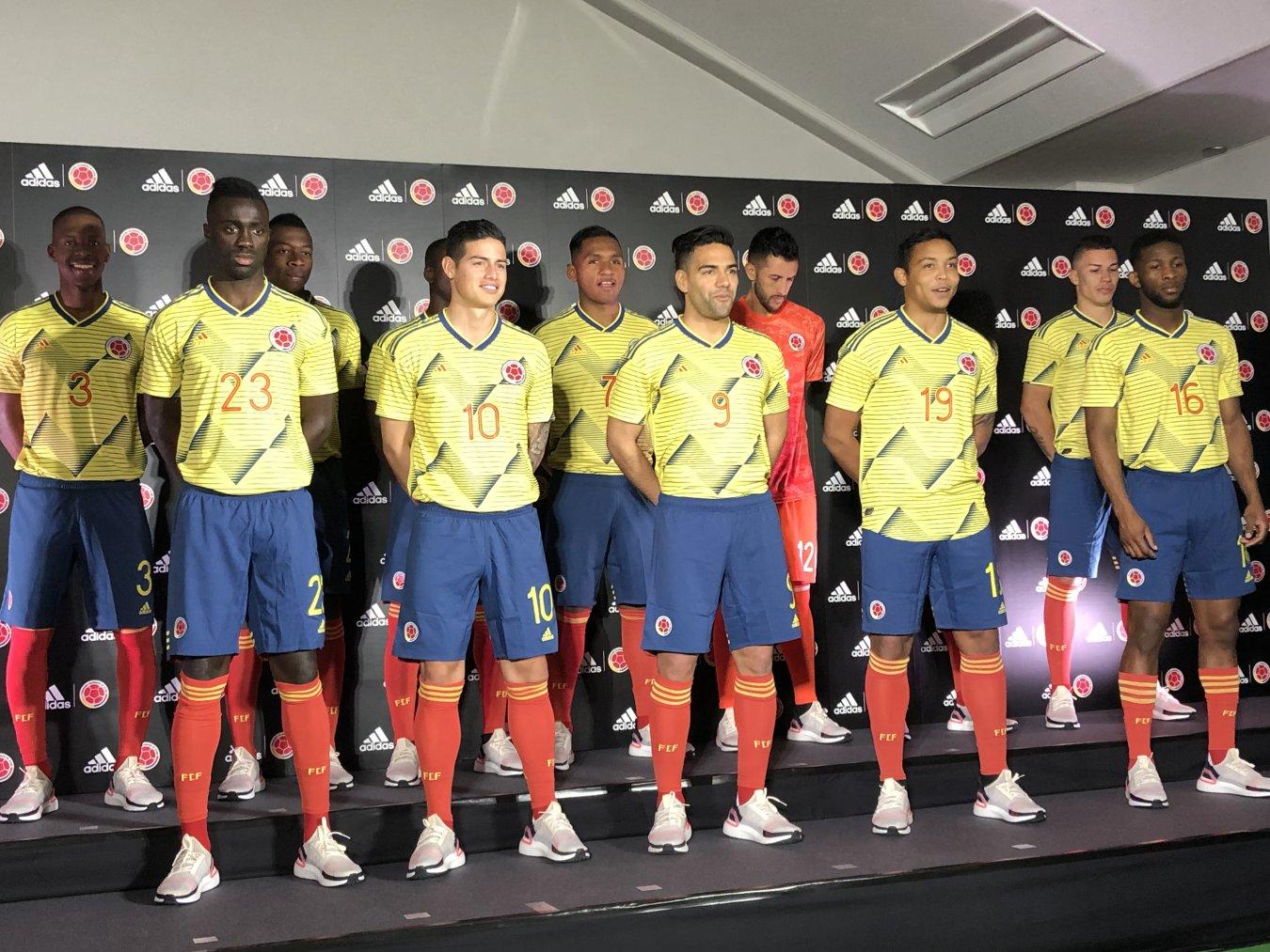 Nueva Camiseta De Colombia 2019 Detail: La Selección Colombia Presenta Su Nueva Camiseta En Japón