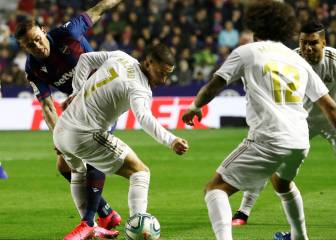 Real Madrid cae con Levante y James sigue sin jugar en LaLiga