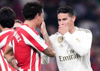 James estaría insistiendo en fichar por el Atlético de Madrid