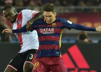 Balanta recuerda su duelo con Messi en el Mundial de Clubes